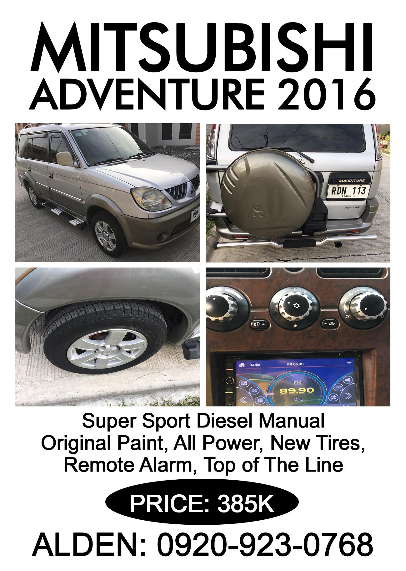 Mitsubishi Adventures 2016