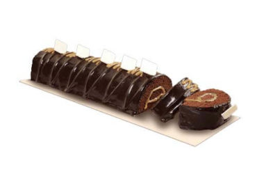 Chocolate Caramel Roll