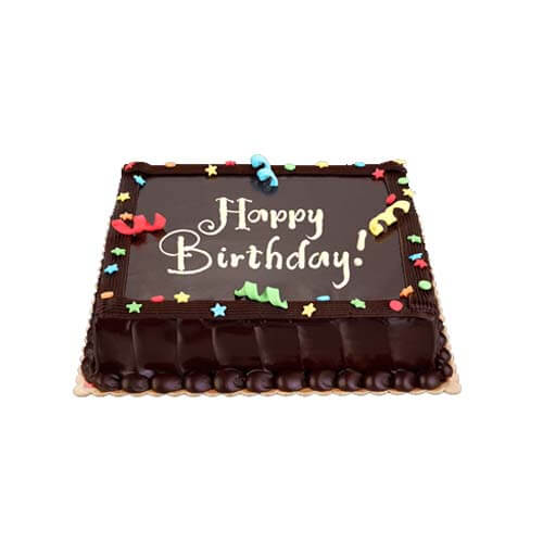 Chocolate Dedication Cake 8×8 (Junior)