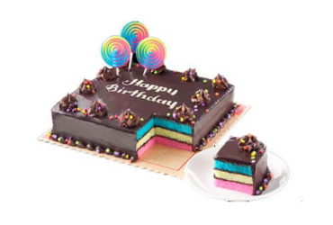 Rainbow Dedication Cake 8×8 (Junior)