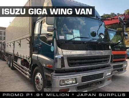 Wing Van Isuzu Giga