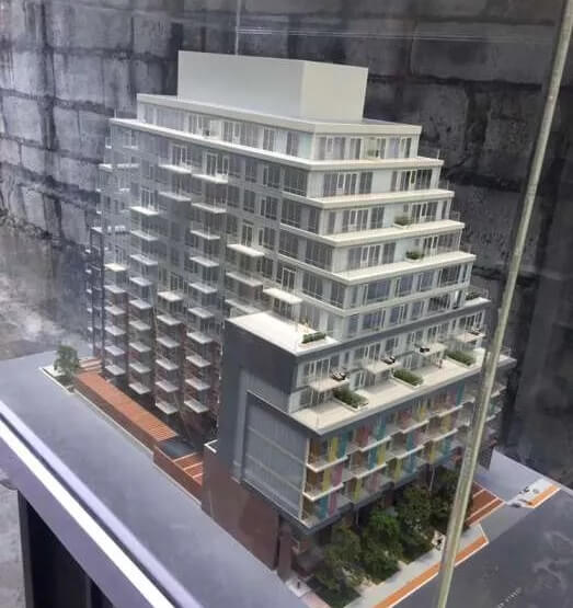 Miniture Building Model