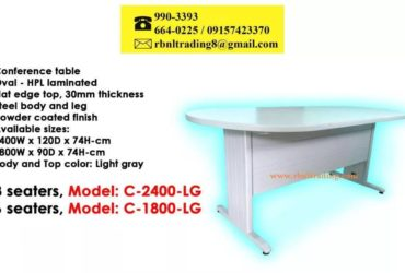 C-1800-LG Office Table Laminated