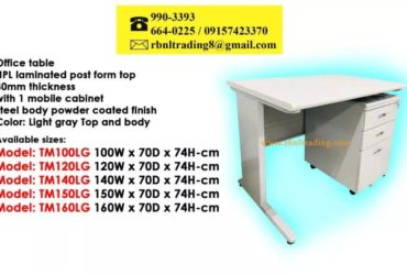 T0120WG Laminated Table Steel