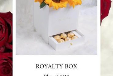 Royalty Box Sunflowers