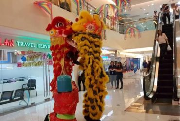 Chinese Dragon and Lion Dance