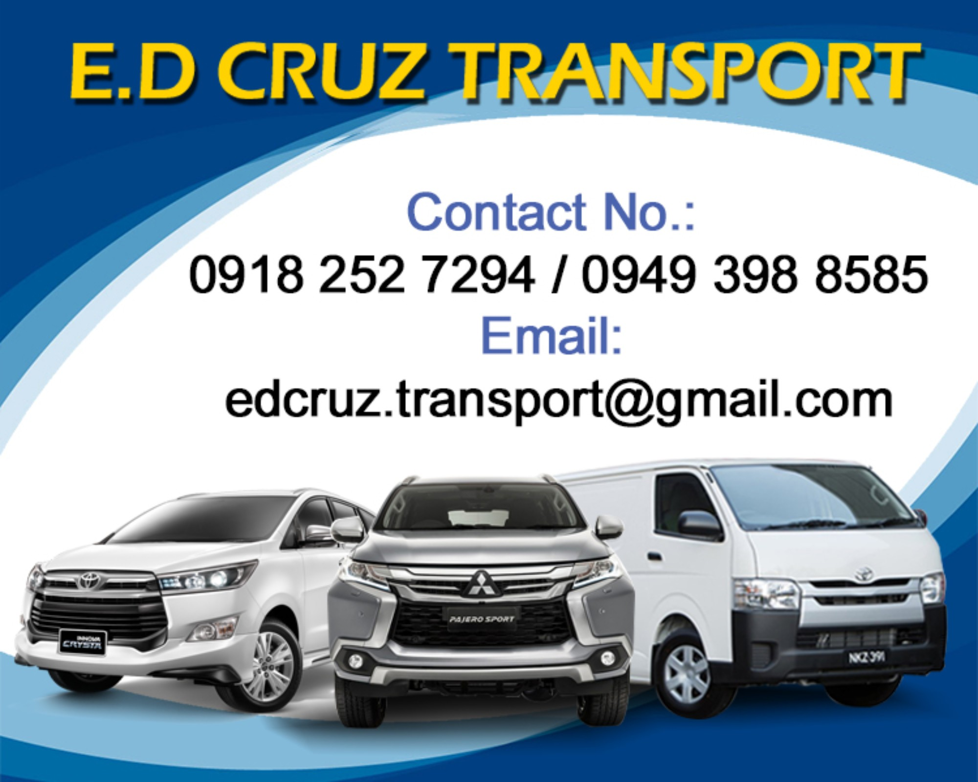 ED Cruz Transport