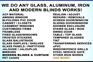 Migs Glass And Aluminum Works