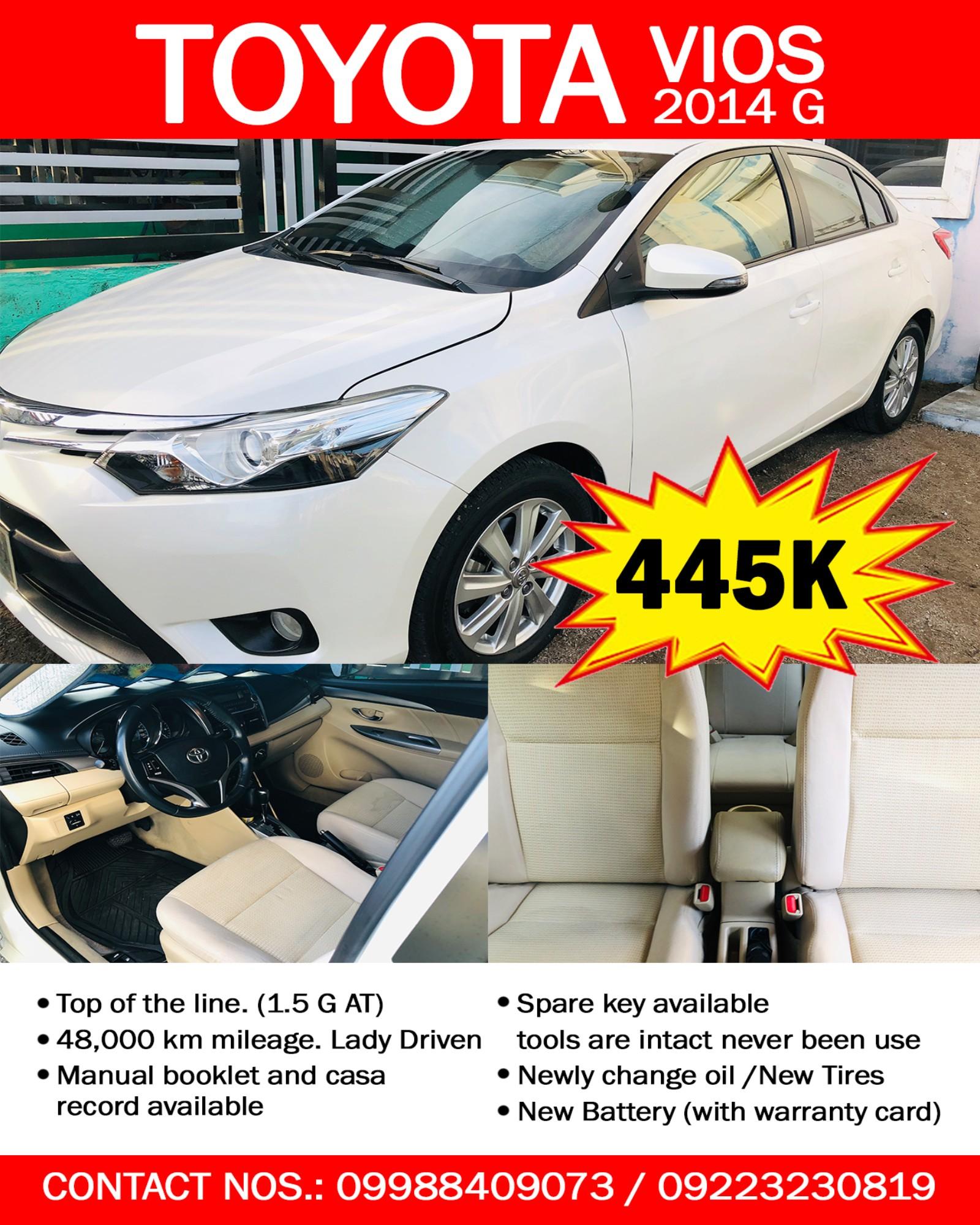 Toyota Vios 2014 G