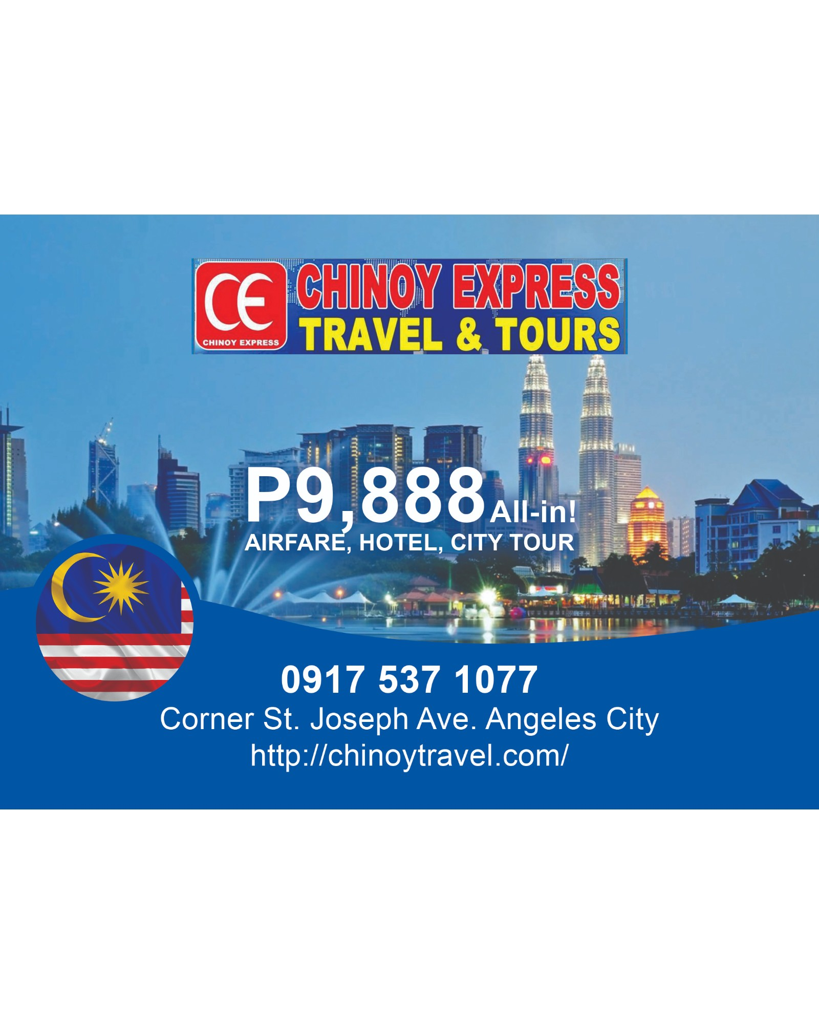 Chinoy Express Travel and Tours