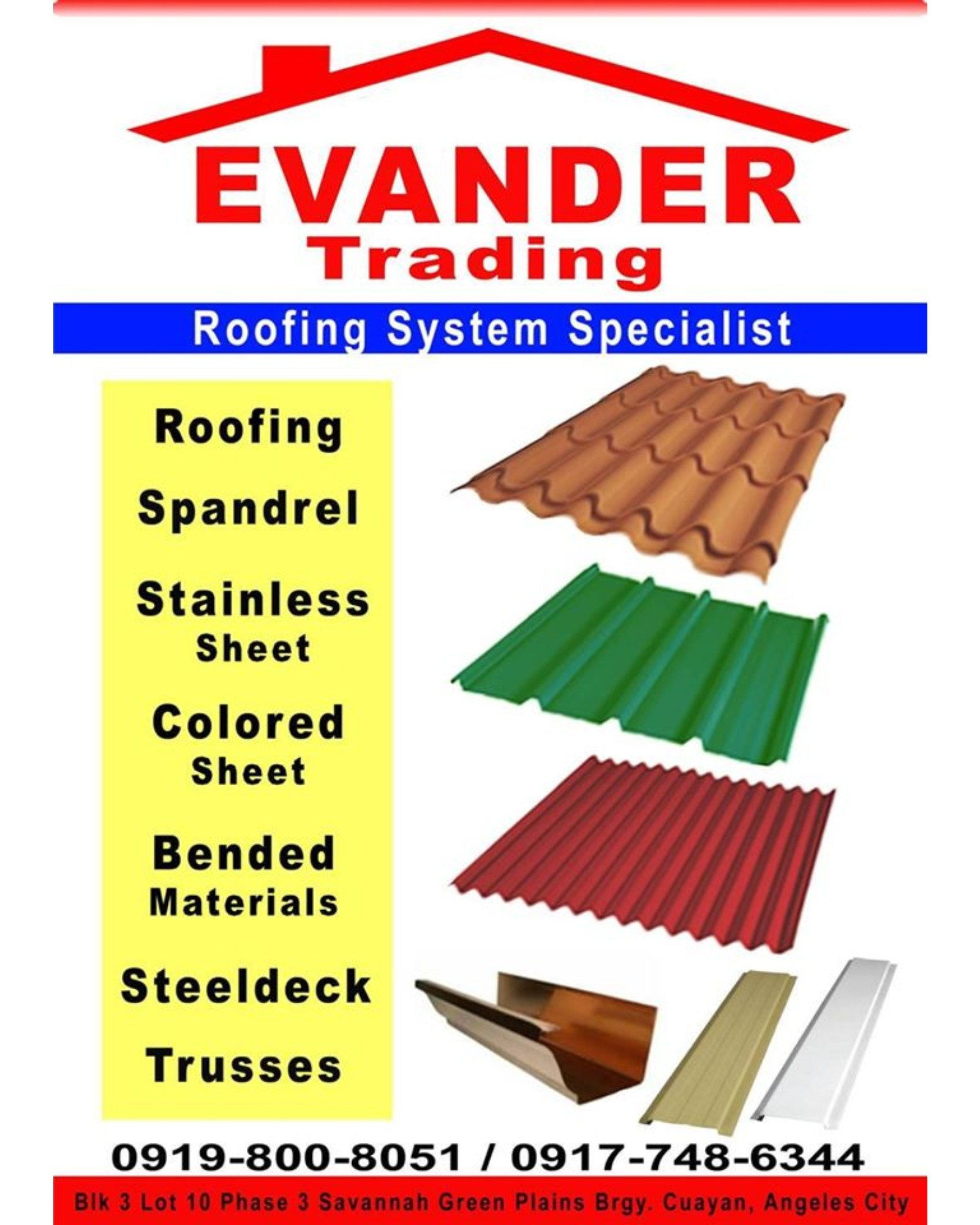 Evander Trading Supply and Services